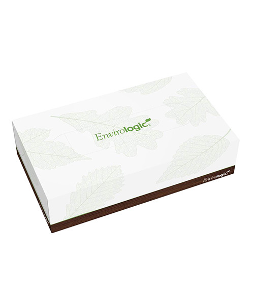 ENVIROLOGIC® 2 ply Facial Tissue